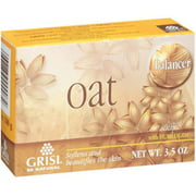 Grisi Natural Oat Soap, 3.5 oz (Pack of 2)