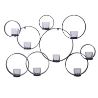 Better Homes & Gardens Iron Circle Wall Tealight Sconce
