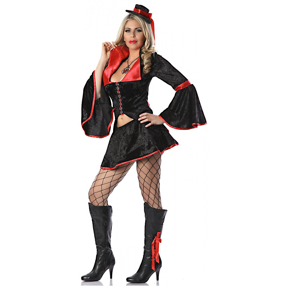 Velvet Vamp Adult Costume - XS/Small
