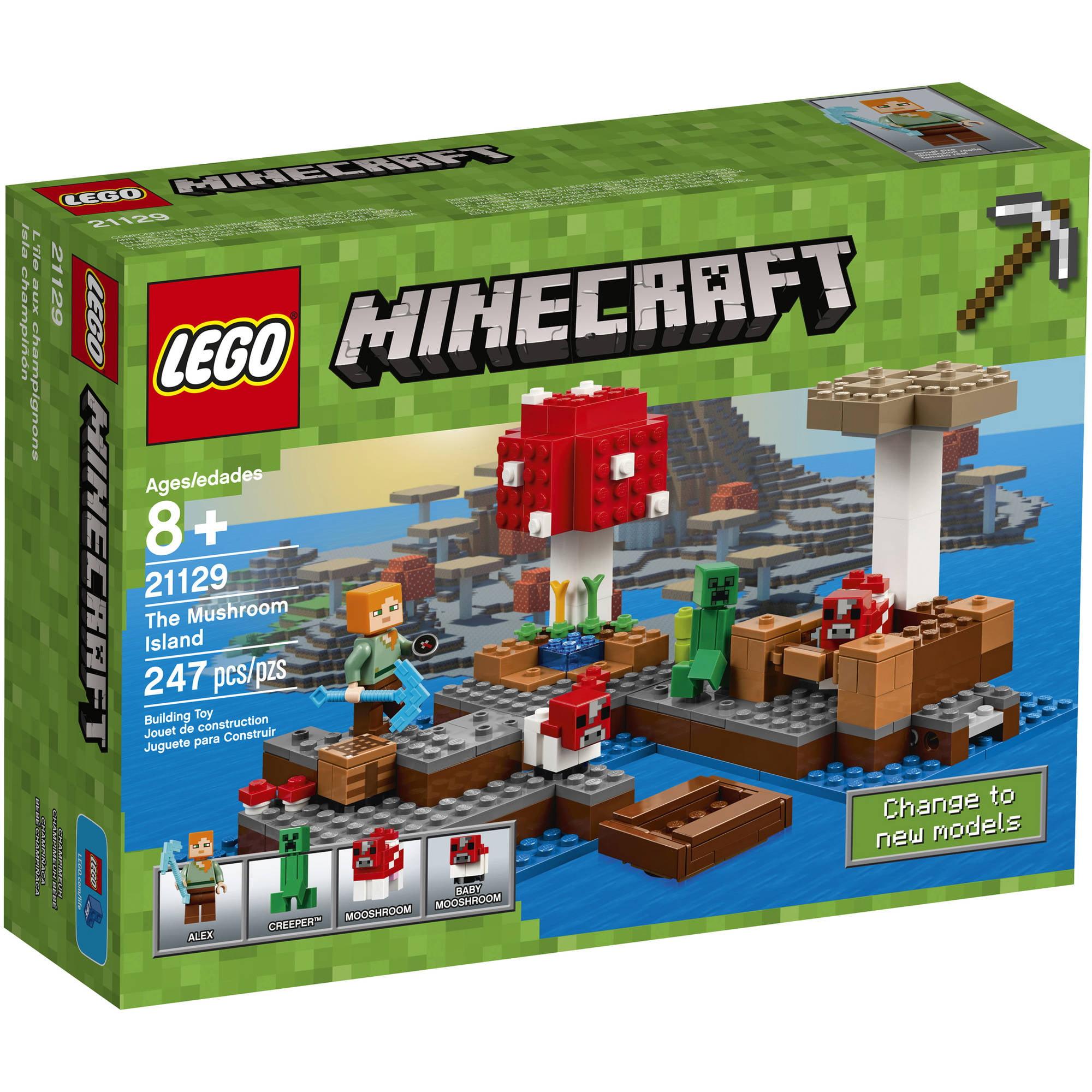 Lego Minecraft The Mushroom Island (21129) by LEGO Systems Inc