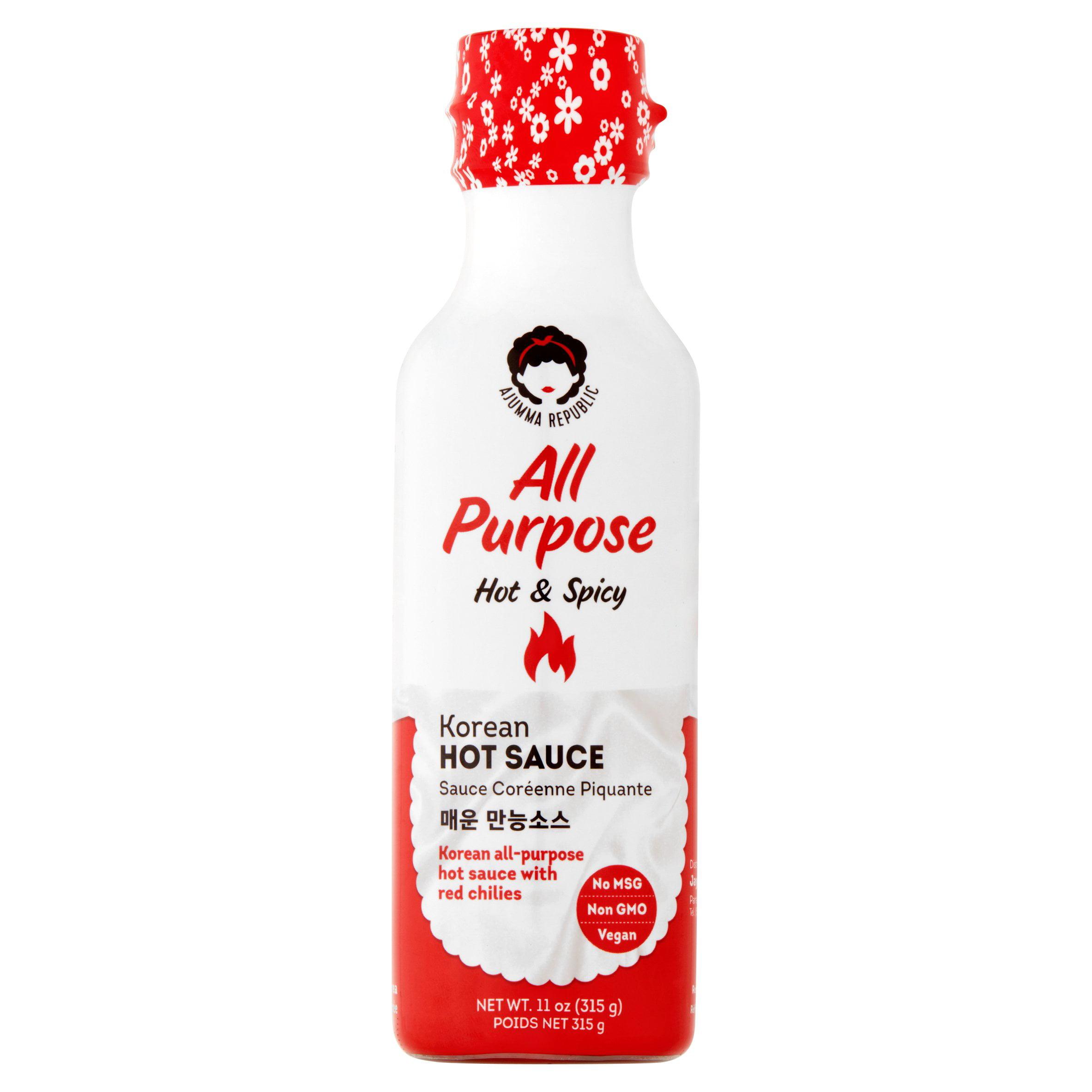 Image of Ajumma Republic All Purpose Hot & Spicy Sauce, 10.58 oz