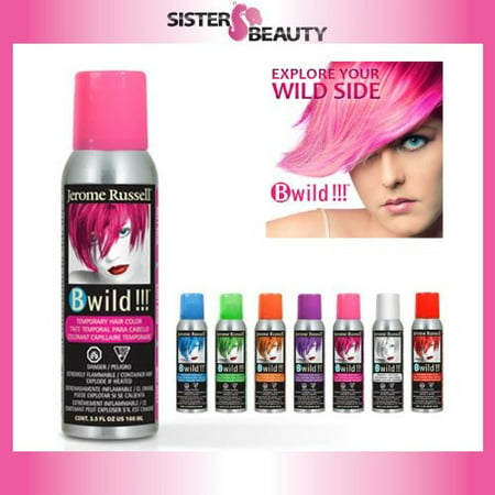 Jerome Russell B Wild Temp\'Ry Color Spray, Lynx Pink3.5 Oz ...