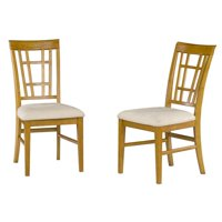 Montego Dining Chair with Oatmeal - Caramel Latte