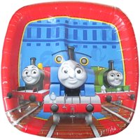 Thomas the Tank Engine 'Thomas and Friends' Small Paper Pocket Plates (8ct)