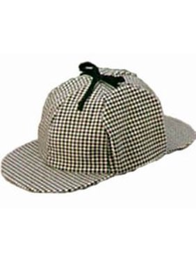 Product Image Jacobson Hat Company Men s Sherlock Holmes Cotton Cap a56bb9c37c62