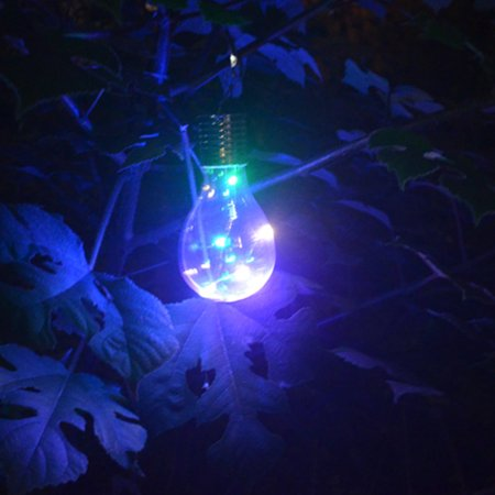 Led String Light Bulb Outdoor Solar Energy Courtyard Lawn Light Creative Decorative Lamp Colored Light Lolored Light