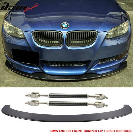 Fits 06-13 BMW E90 E92 M3 Carbon Fiber Front Splitter Lip Diffuser