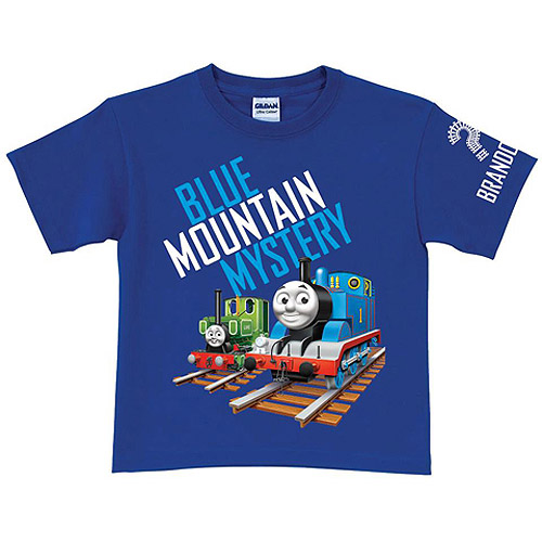 Personalized Thomas Blue Mountain Mystery Boys' T-Shirt
