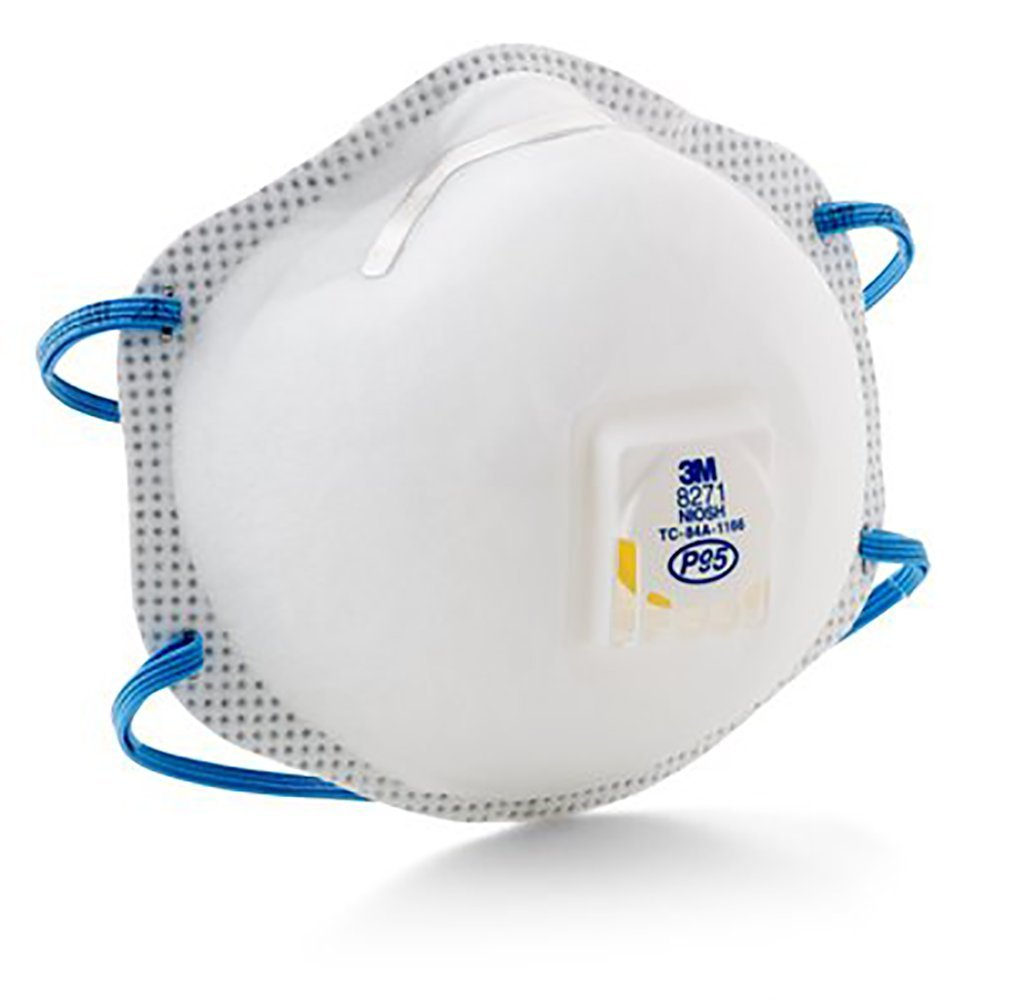 MCO54285 Particulate Respirator 8271, P95, By 3M by