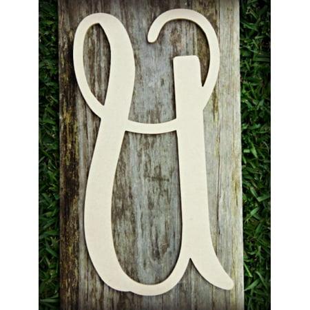 Lowercase Vine Letter (U) 6