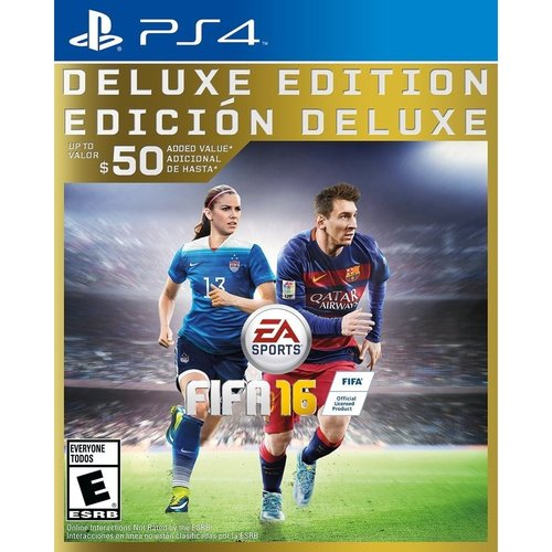 EA FIFA 16 Deluxe Edition - Sports Game - PlayStation 4