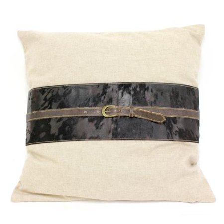 20 Inch Throw Pillow Covers : Teters 20-inch Leather Throw Pillow Cover - Walmart.com