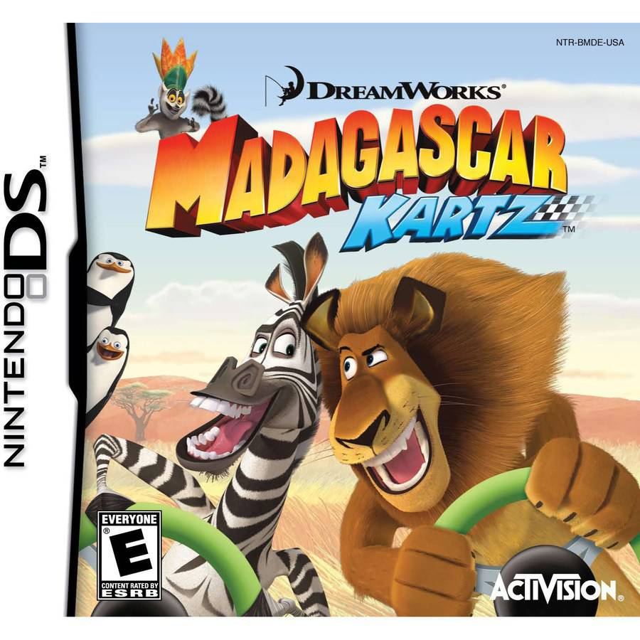 Mad Karts of Madagascar (DS)