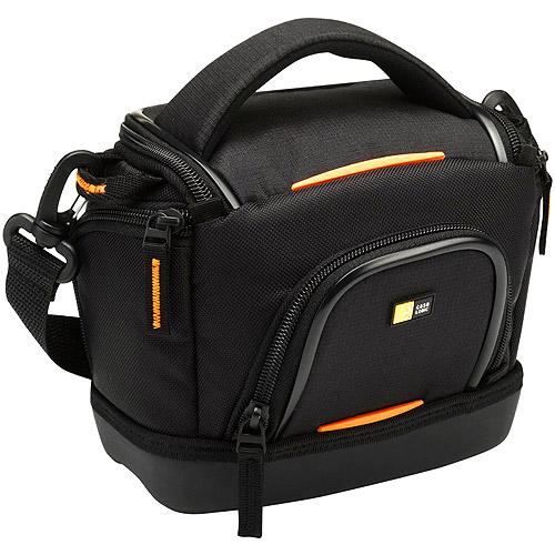Case Logic SLDC-203 Compact System/Hybrid/Camcorder Kit Bag (Black)