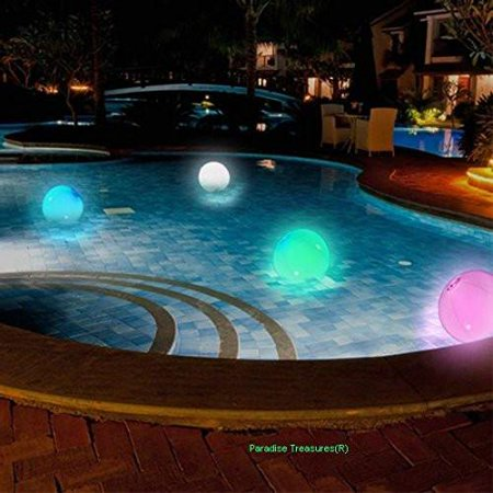 Light Up Beach Ball with Color Changing LED - Balls That Light Up