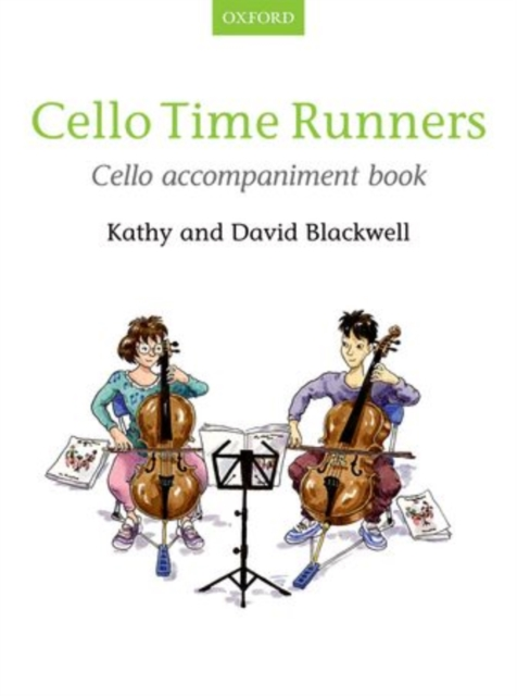 Cello Time Runners Cello Accompaniment Book (SHeet music) by