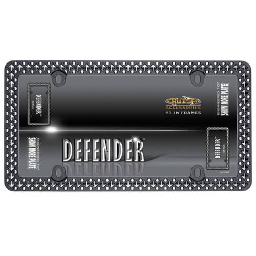 Cruiser Accessories Defender, Matte Black/Chrome