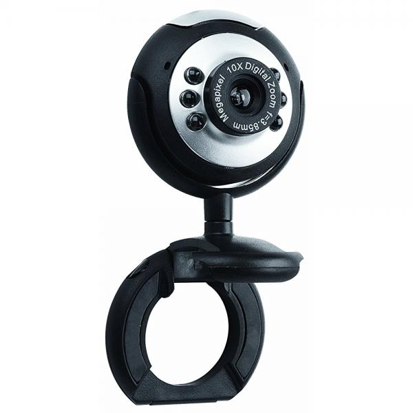 Merkury Innovations Live USB Webcam with Clip (M-WC310)