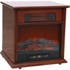 Duraflame 400 Sq Ft 1500w Electric Stove Faux Fireplace