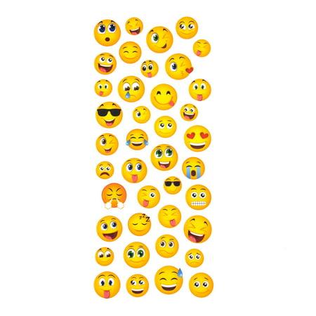 Small  Emojis Clear Photo Safe Paper Stickers, - Emoji Photos
