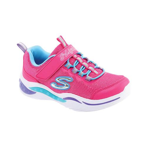 Skechers Girls' Skechers S Lights Power Petals Sneaker