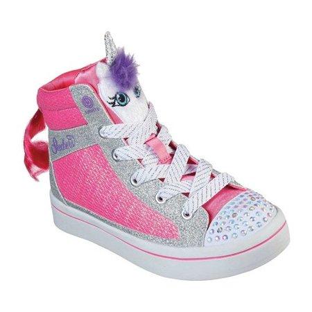 Girls' Skechers Twinkle Toes Twi Lites Unicorn Pal Sneaker