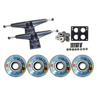 KRYPTONICS ROUTE Truck Wheel Pack 65mm CLEAR Core 7.0 Black