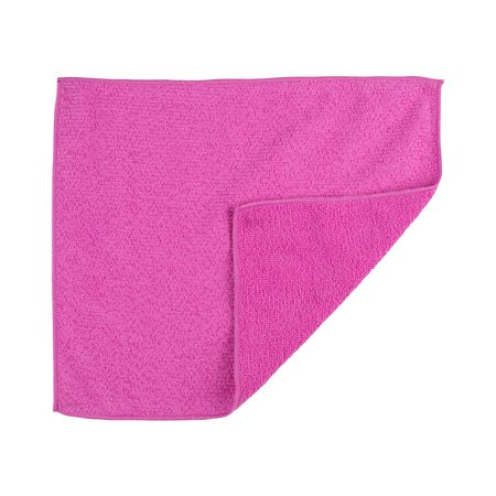 "Casabella Microfiber All Purpose Cloth, Magenta (2pk) (12"" x 14""), 100% Microfiber, for Home, Office, Car and Boat"