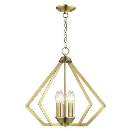 Livex Lighting Prism 5 Light Chandelier