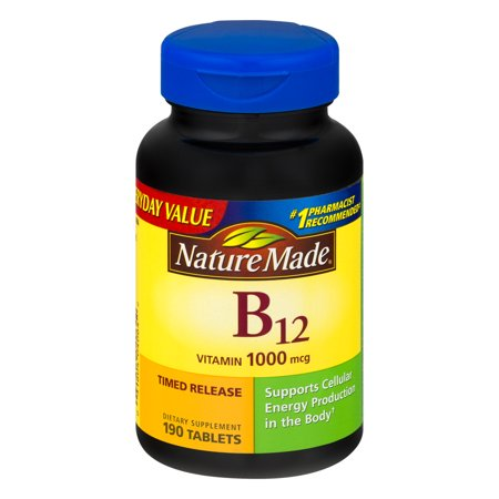 Nature Made Vitamin B12 1000 Mcg   190 Ct