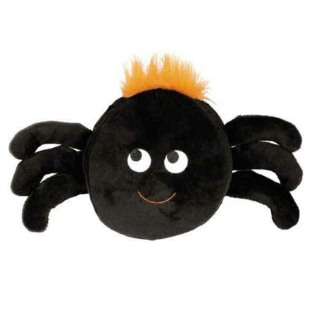Halloween Toys For Babies (Halloween Gang Dog Toy Plush Ball Shape Scary Silly Pick Witch Spider or Pumpkin)