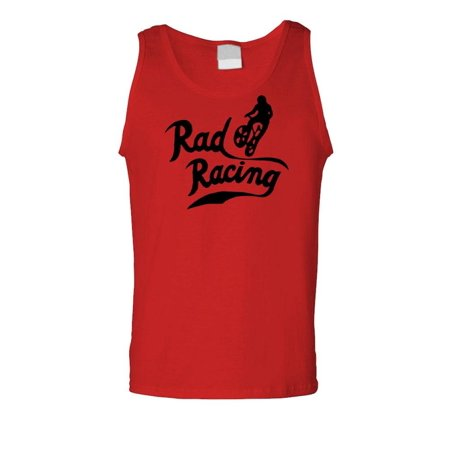 RAD RACING - retro vintage 80's movie bmx - Cotton Tank Top - 80's Clothes Ideas