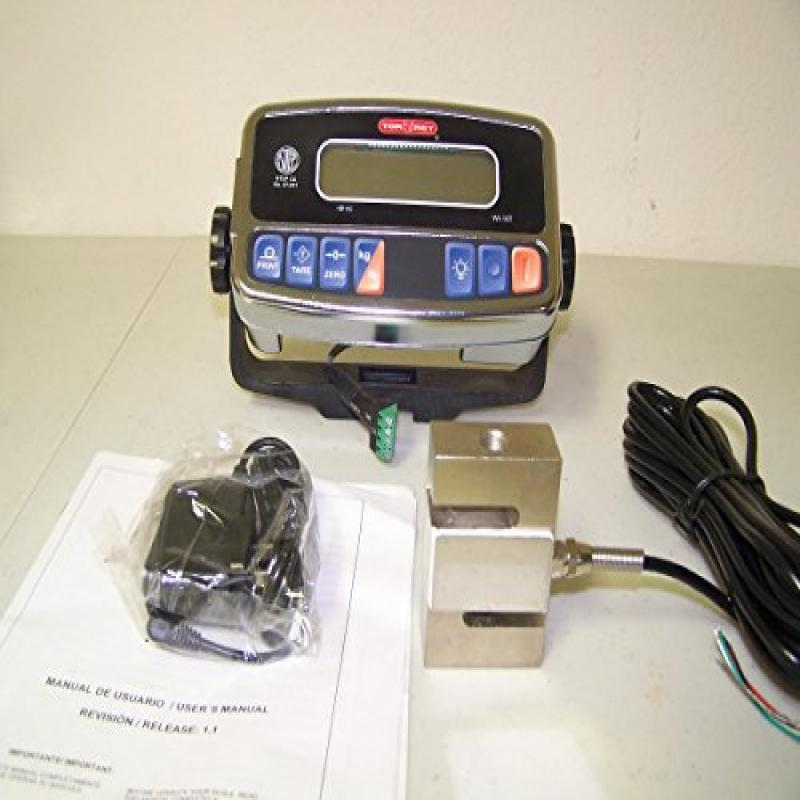 Crane Scale 3000 X 1 LB, S-Type Load Cell / Torrey WI-10T...