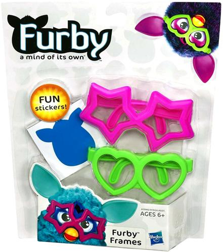 Furby Frames Accessory [Pink & Green] by Generic