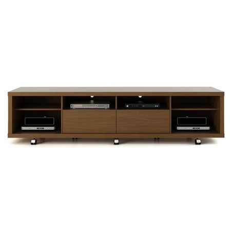 Contemporary Tv Stands In Nut Brown