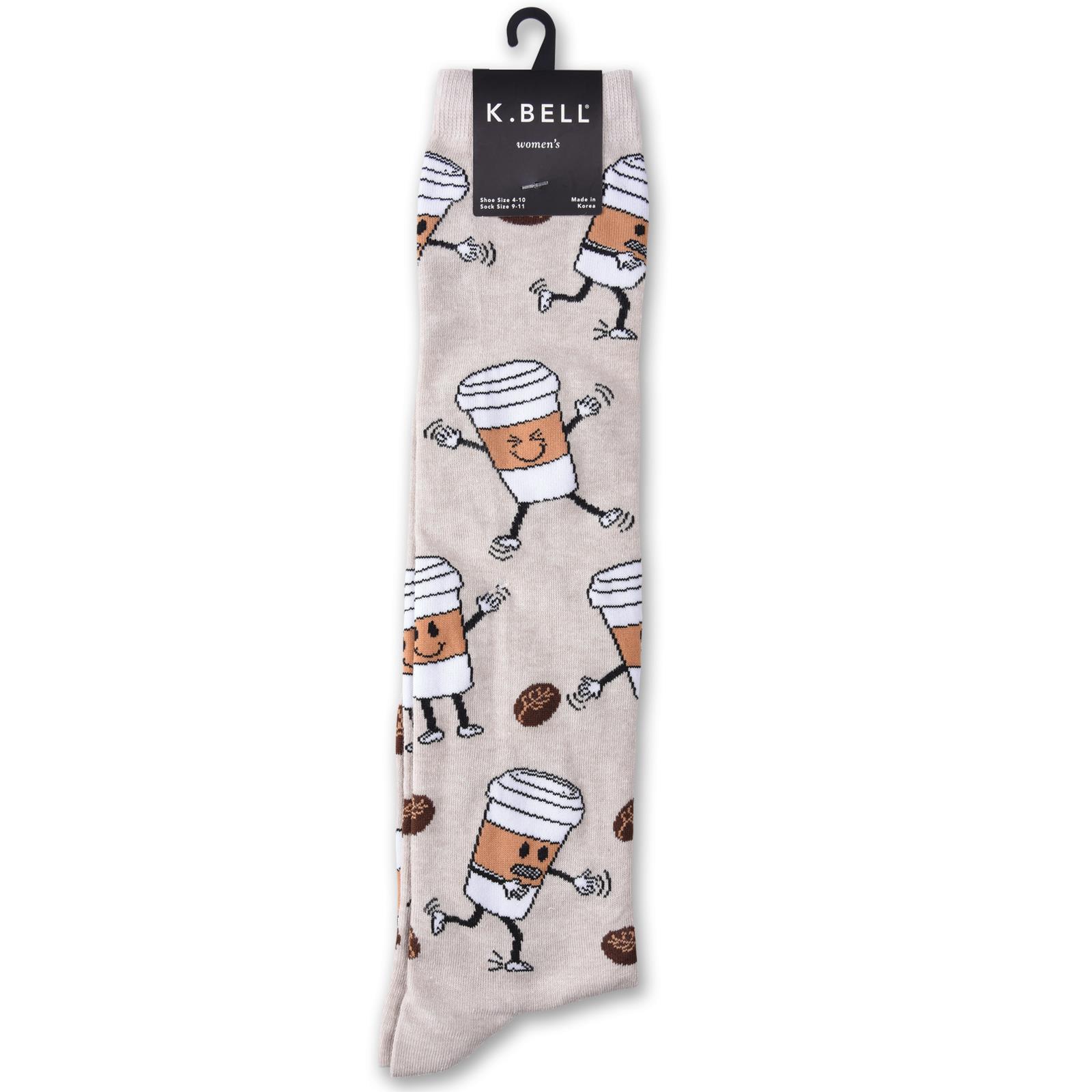 Sock Size Bell Socks Women/'s HEDGEHOG FRIENDS Knee High Socks 9-11 K