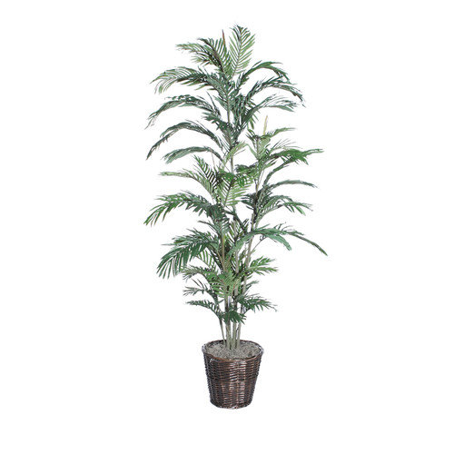 Vickerman 26476 - 6' Areca Palm Deluxe (TDX1060) Palm Home Office Tree