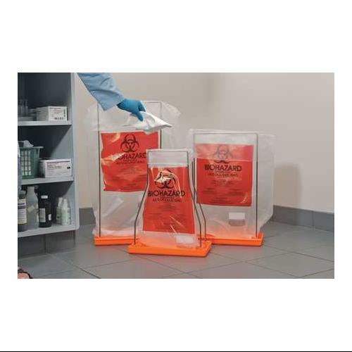 Autoclavable Biohazard Bag, Red ,Bel-Art - Scienceware, 1...