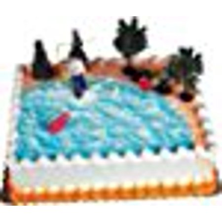 A1BakerySupplies Cake Decorating Kit CupCake Decorating Kit Sports Toys (Fishing Cake - Fishing Cake