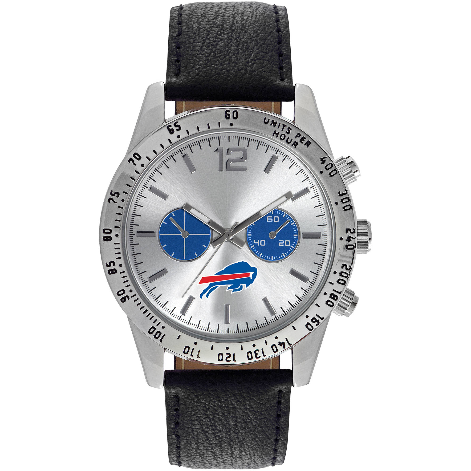 Game Time NFL Men's Buffalo Bills Letterman Series Watch