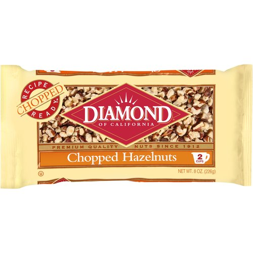 Diamond:  Chopped Hazelnuts, 8 Oz