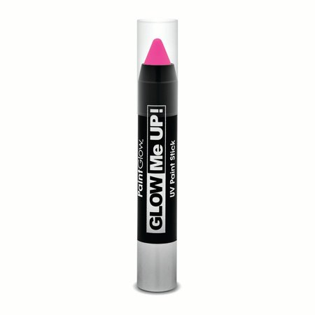 Punk Makeup For Halloween (PaintGlow UV Glow Me Up Party Makeup 3.5g Paint Stick, Neon)