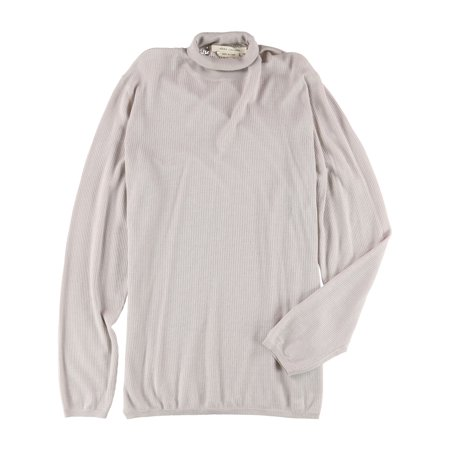 Marc Jacobs Mens Ribbed Cashmere Pullover Sweater pale L