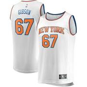 Taj Gibson New York Knicks Fanatics Branded Youth Fast Break Replica Player Jersey - Association Edition - White