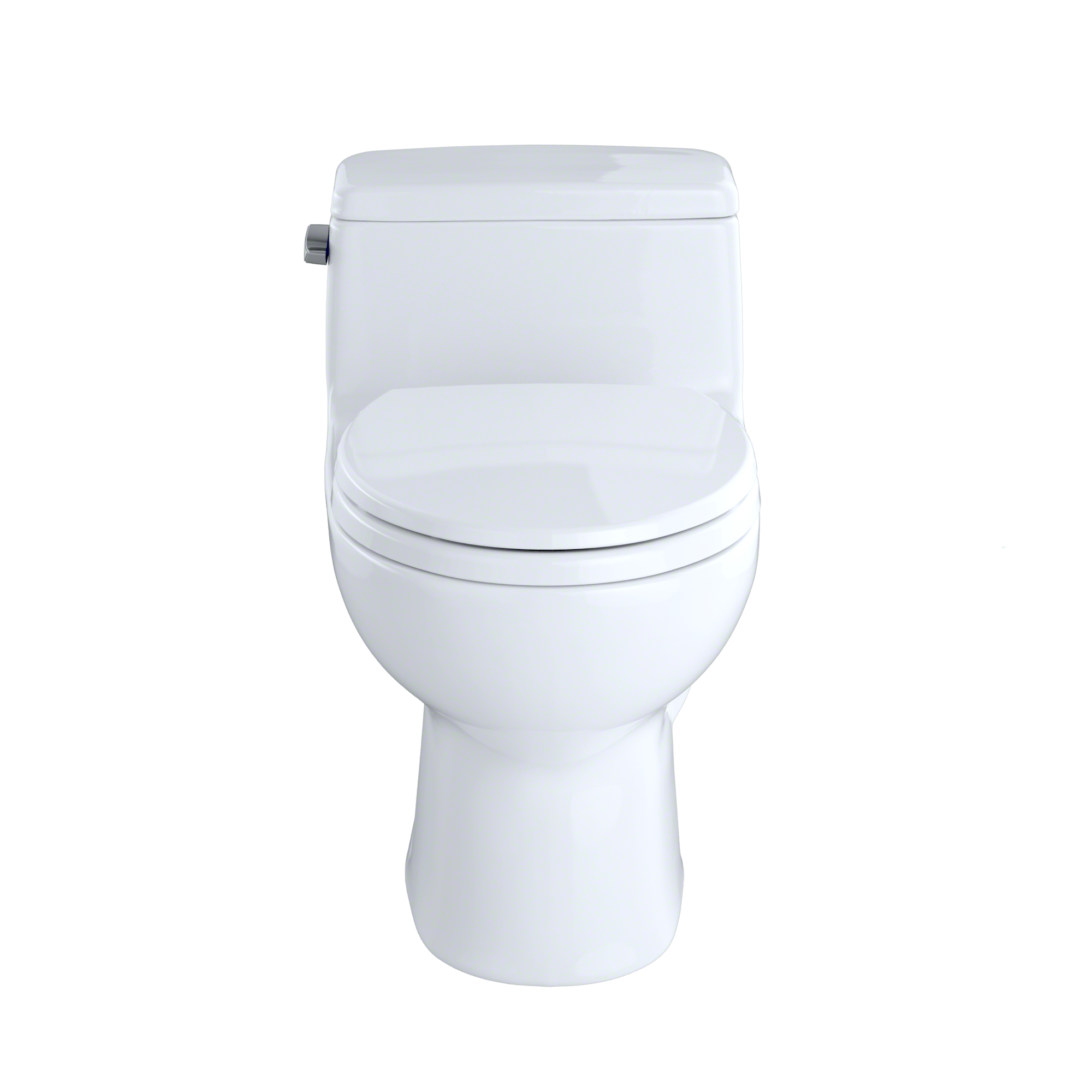 Toto Eco Supreme One Piece Round Bowl 128 Gpf Toilet Cotton