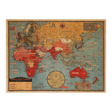 Wall stickersoutgeek removable world map wall painting wall art wall stickersoutgeek removable world map wall painting wall art decor for home living room gumiabroncs Gallery
