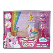 Rainbow Butterfly Unicorn Kitty - Felicity's Spa Playset