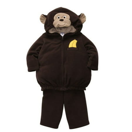 Carters Infant Monkey Costume Baby Boys Girls Hoody Jacket Sweat Pants (Monkey Outfits For Adults)