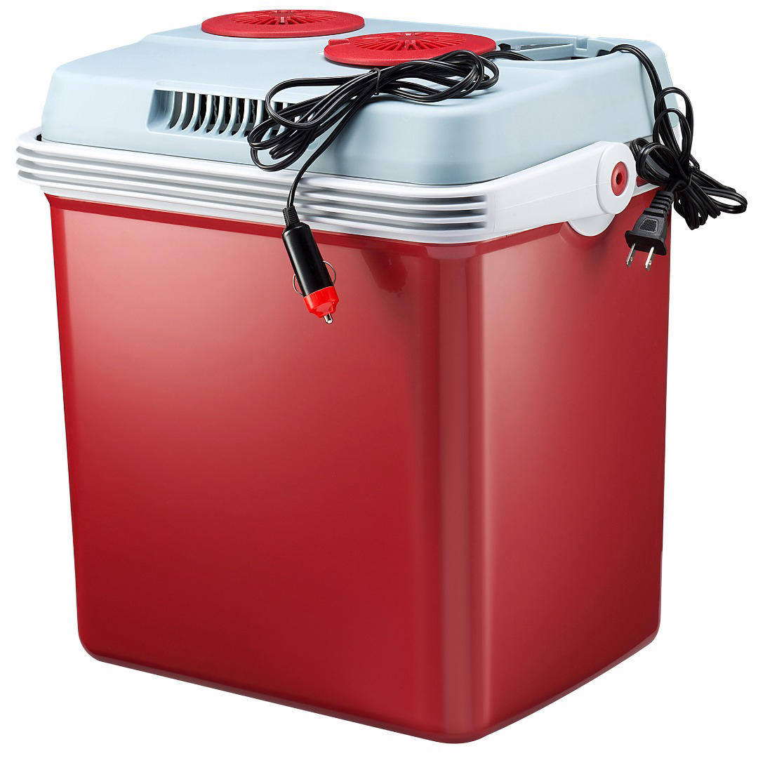 Knox Gear 27 Quart Electric Cooler Warmer with Dual AC and DC Power Cords (Red) by Overstock