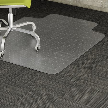 Lorell, LLR69157, Standard Lip Low-pile Chairmat, 1 Each, Clear